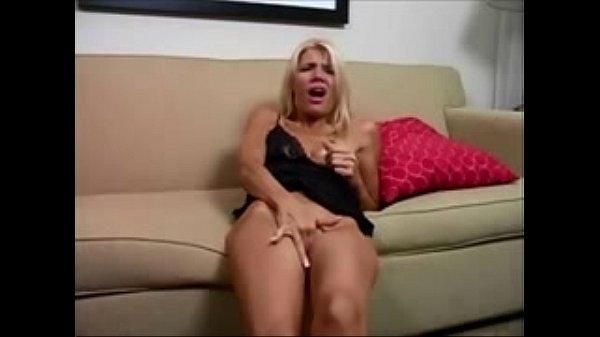 Blonde Hot Mom Masturbating (Stop Jerking Off! ...