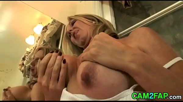 Mature Blonde with Big Nipples Free Softcore Porn Video