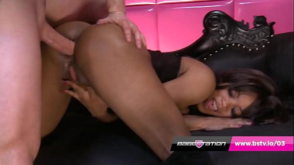 Hot interracial anal fuck with Kiki Minaj at Babestation