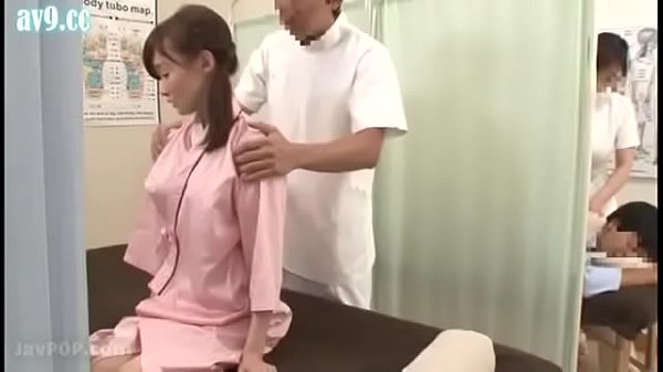 Japanese wife get a special massage beside her ...