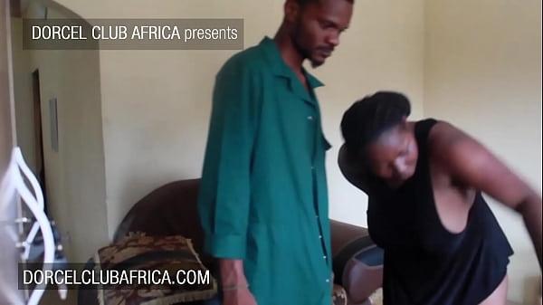 Curvy ebony housewife seduces the electrician