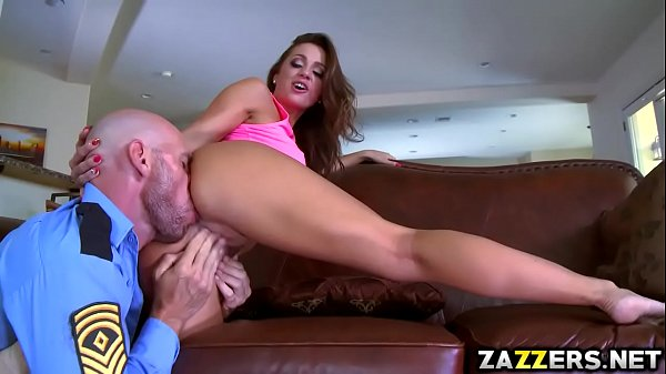 Abigails Macs pussy hammered so hard by Johnny ...