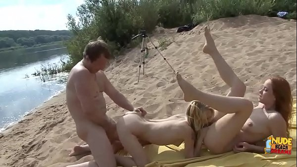 Crazy outdoor group sex of Russian amateurs