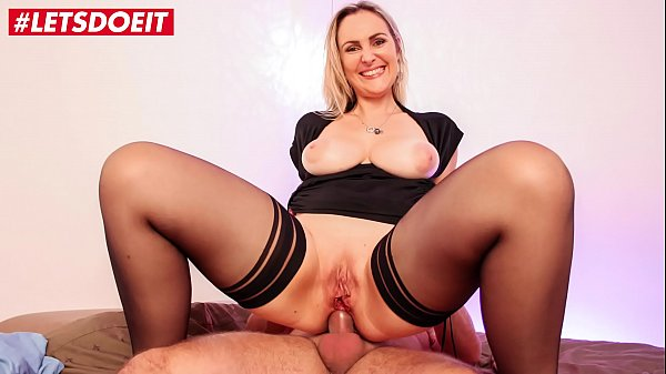 LETSDOEIT - Horny French Mommy Picked Up At The Supermarket To Get Fucked