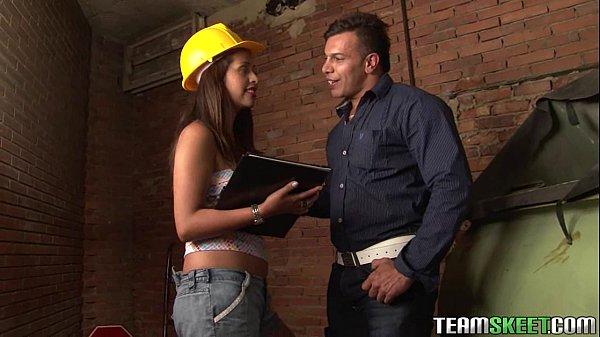OyeLoca Smalltits Latina babe Laura Arce hardcore sex