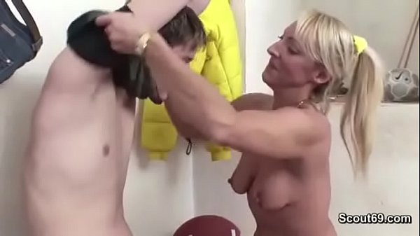 43yr Old Hot MILF Teacher Fuck Young Boy after ...