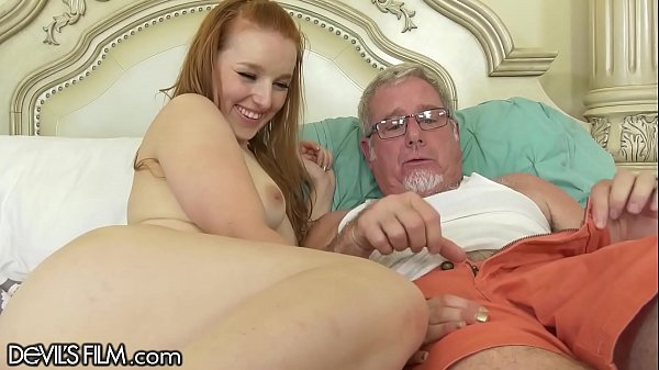 DevilsFilm Young Redhead Wants Her Step-Grandpa's Huge Dick Inside Her Thumb