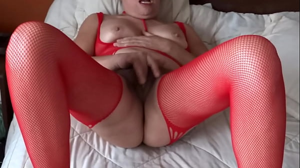 EROTIC MOMENTS, FURRY MOTHER, WIFE WITH HAIRY PUSSY, 55 YEARS OLD, IS EXHIBITED, MASTURBATED - ARDIENTES69