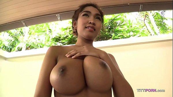 I rub oil on my boobs