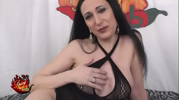Italian Milf Luna Dark in fishnet stockings fucks with Capitano Eric Thumb