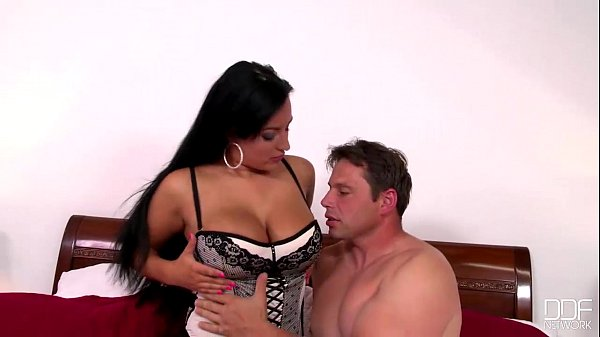 DDF Busty-Beauty with Perfect tits fucks like a dream machine