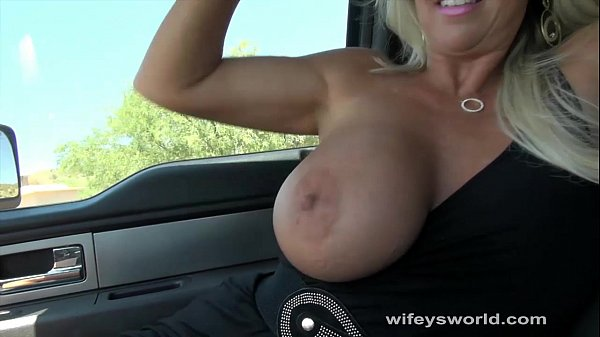 Wifey Sucks And Strokes For A Ride Thumb