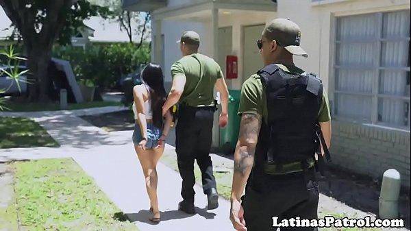 Real latina immigrant bouncing on dick Thumb