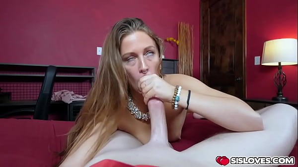 Stepbrother letting his stepsister Febby enjoys his cock