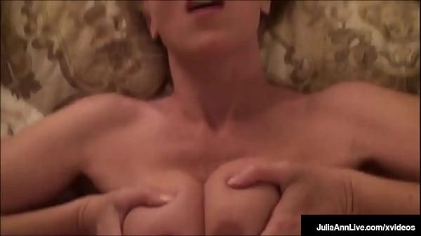 Hot Hooters Milf Julia Ann Titty Fucks A Dick W...