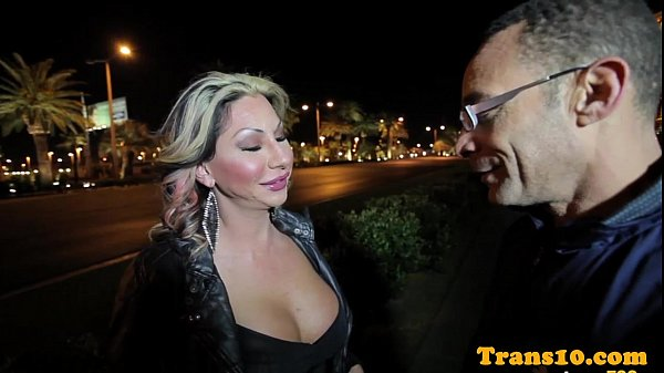 Glam latina trans fucked in tight culo