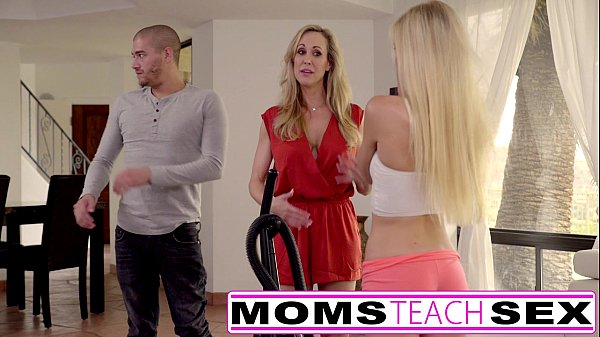 Moms Teach Sex - Big tit mom catches daughter