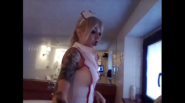nurse so bad spread your ass for med-exam
