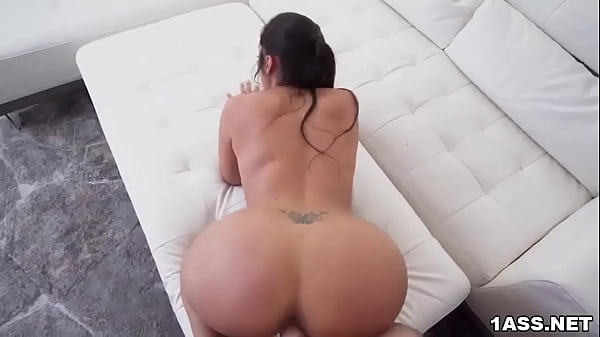 Curvy Lilly Hall rides cock after sloppy sucking