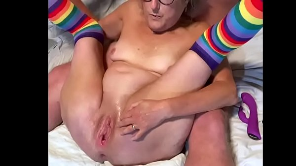 Horny Mature Milf Fingers Hot Snatch Shave Pussy Spread Wide Thumb
