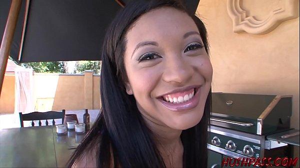 Ebony Babe Rhianna Ryan Wants a Taste of Whitezilla's Cock