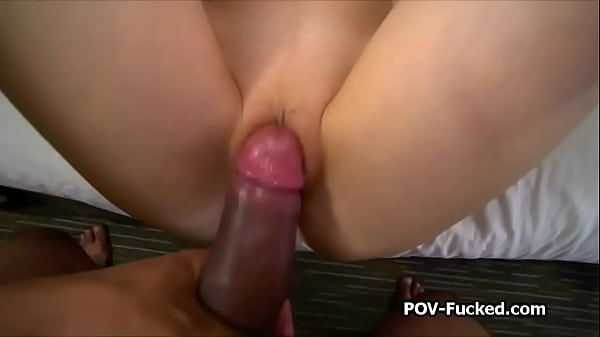 POV drilling raven haired cutie on casting Thumb
