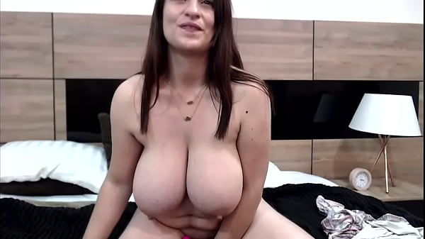Milf shows her saggy tits