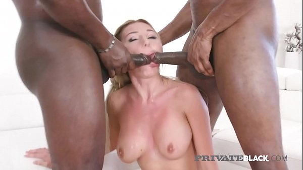 PrivateBlack - Marilyn Kristal Double Dicked By Black Cock