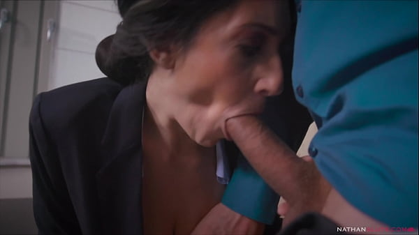 Hung Ian Scott Destroys the Asshole of his big boobs big booty manager Eloa Lombard Thumb