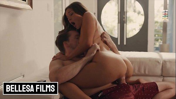 Petite Sexy (Zoe Bloom) Gets A big White Cock - Bellesa