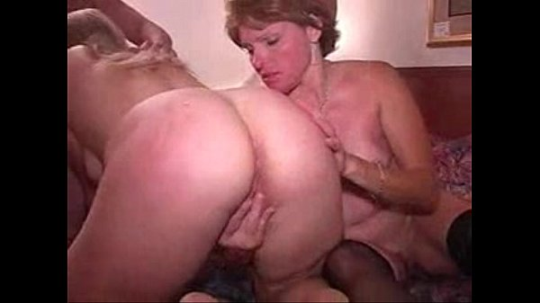 Amateur home made video. My wife first time les...