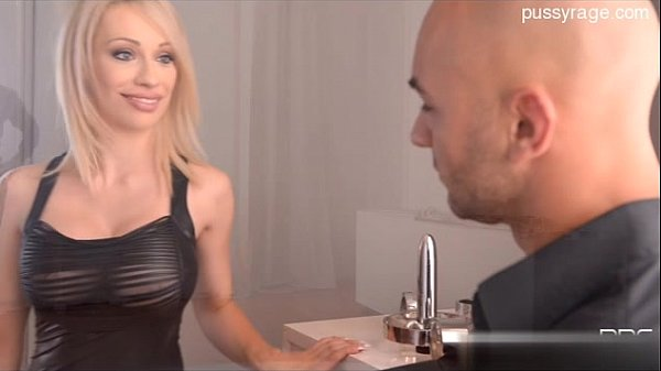Busty model sex in public