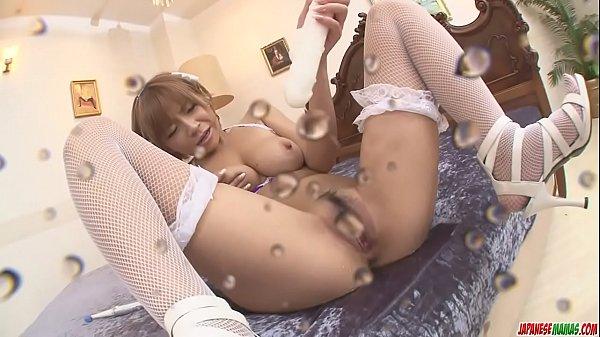 Big Titted Sumire Matsu Squirts From Masturbating - More at javhd.net