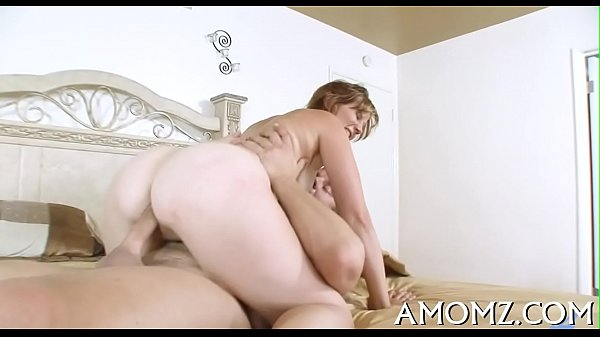 Hungry mamma likes throat fucking