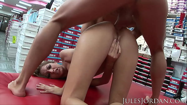 JulesJordan.com - Jenna Haze Darkside: Anal Foot Fetish