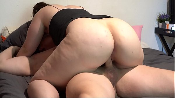 Thick Juicy Pawg Fucked then Jerks Him Off Between Her Phat Ass Cheeks Assjob Cum