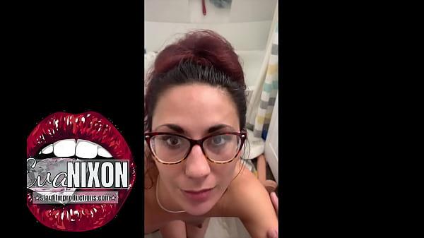 Hotwife tells husband she wants bigger cock while sucking his dick- Eva Nixon   Silas Black Thumb