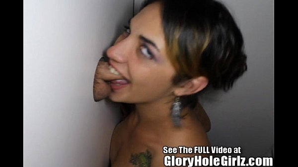 Fit cutie Serenza is invited to the glory hole
