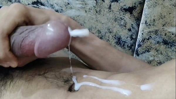 indian big dick jerking off huge cum Thumb