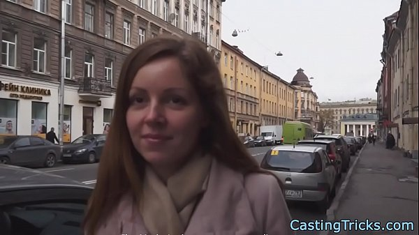 Casting beauty creampied after doggystyle