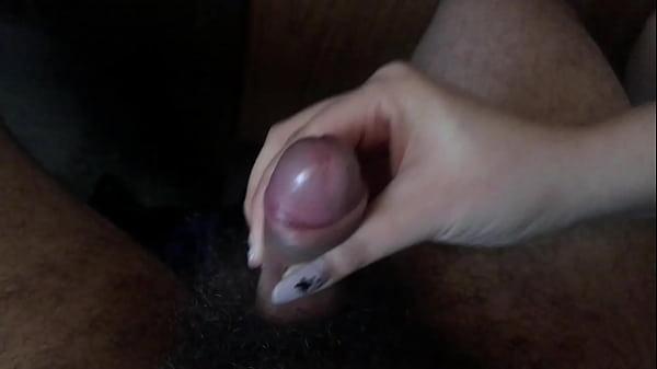 handjob beauty white hands