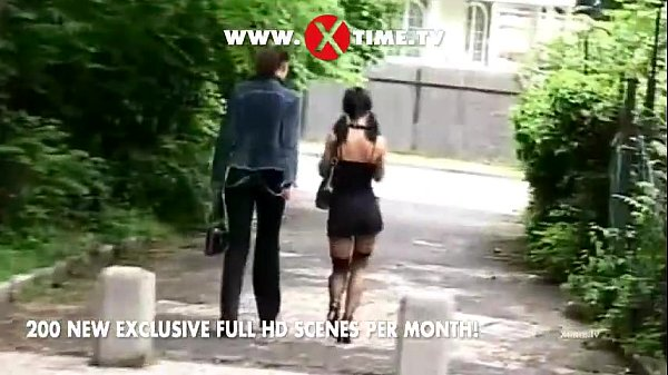 White chick picked up on the street and fucked by black cock