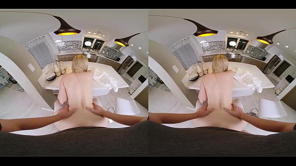 VRConk Blonde Slut Cheating On Husband With Local Milkman VR Porn