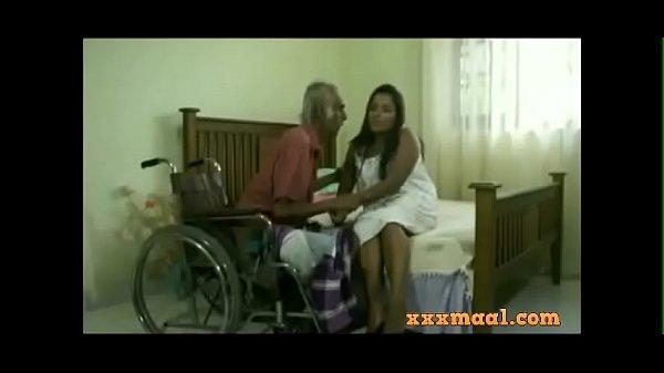 xxxmaal.com -Thisaravige Rathriya Hot scene with Old man Thumb