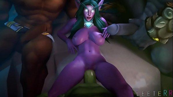 FapZone // Tyrande (World of Warcraft)