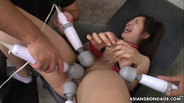 Rina Kiuchi is getting stimulated with many sex toys