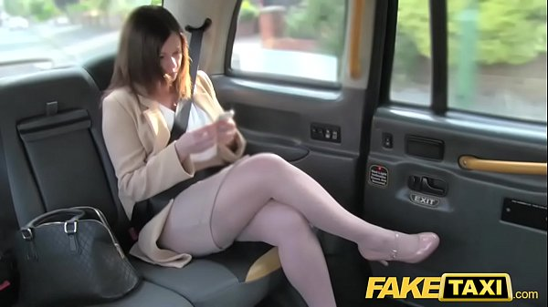 Fake Taxi Office romance r. with london cabby