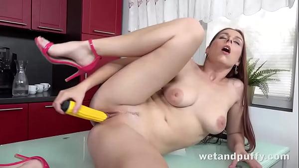Naughty Antonia Sainz Orgasms On The Dining Table