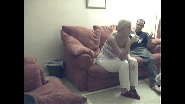 Blonde Hottie Fucking with Asslicking Front Hidden Webcam Cumshot on Ass