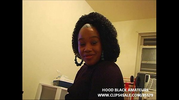 BLACK HOOKER COMES BY TO GET A HUGH MOUTH FULL OF CUM